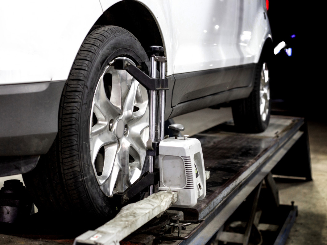 Even out your chassis with a 4-wheel alignment
